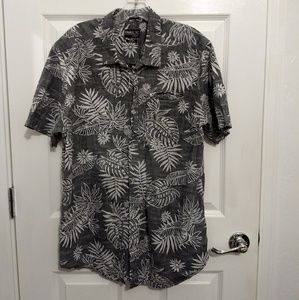 !!NEW!! O'Neill grey Hawaiian button down shirt